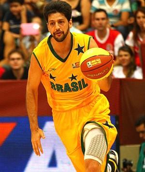 basquete nbb jogo das estrelas guilherme Giovannoni (Foto: Luiz Pires / LNB)