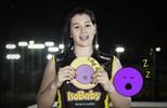 Levantadora, Claudinha representa o Praia Clube no Jogo dos Emojis
