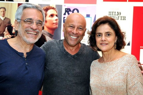 Aderbal Freire Filho, Eduardo Wotzik e Marieta Severo  (Foto: Cristina Granato)