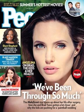 Angelina Jolie (Foto: Revista/Reprodução)