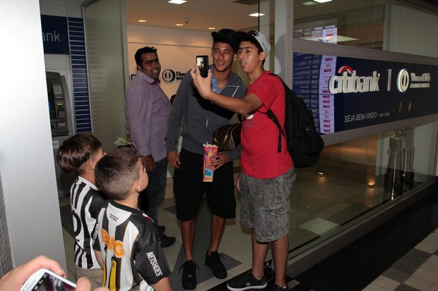 Neymar (Foto: Guilherme Henrique/Photo Rio News)