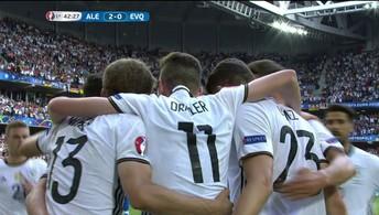 Os gols de Alemanha 3 x 0 Eslováquia (PAUL ELLIS / AFP)