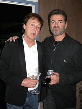 Paul McCartney presta homenagem a George Michael (Foto: Reprodução / Instagram)