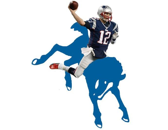 Tom Brady montagem touro (Foto: Reprodução/ Facebook)