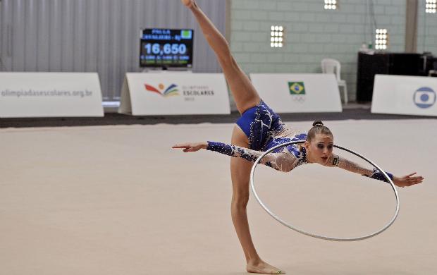 Mayra Siñeriz ginástica rítmica olimpíadas escolares (Foto: Fernando Soutello/AGIF/COB)