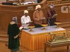 Presidente de Mianmar, Htin Kyaw, toma posse