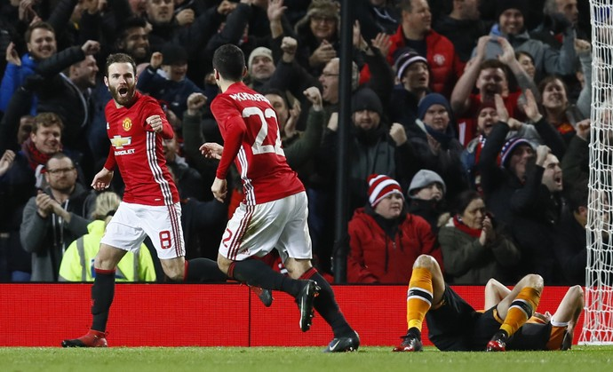 Juan Mata em Manchester United x Hull City (Foto: Reuters)