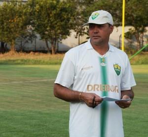 Treinador Márcio Goiano do Cuiabá (Foto: Assessoria/Cuiabá Esporte Clube)