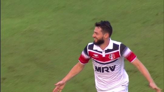 Camisa 10 no Santa, João Paulo afirma que pode jogar com Montillo e Camilo