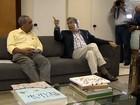 Governador Marcelo Déda se reúne com o prefeito de Aracaju