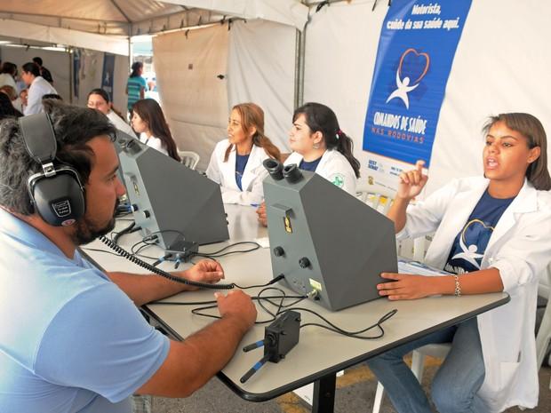 Comandos de Saúde (Foto: Divulgação/Sest Senat)