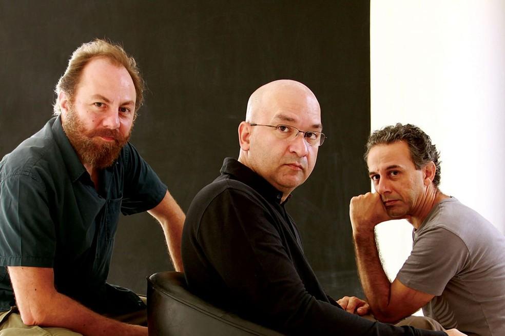 Herbert Vianna, Bi Ribeiro e João Barone, integrantes do Paralamas do Sucesso (Foto: Divulgação)