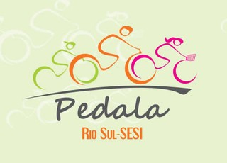 Logotipo Oficial do evento ciclístico Pedala Rio Sul-Sesi (Foto: Arte/TV Rio Sul)