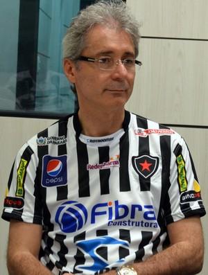 Nelson Lira, Campeonato Brasileiro, Série D, Semifinal, Salgueiro, presidente do Botafogo-PB, Botafogo-PB (Foto: Richardson Gray / Globoesporte.com/pb)