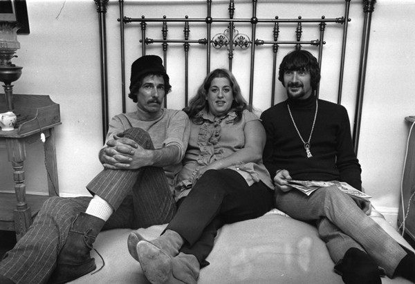 John Phillips, Mama Cass Elliot e Denny Doherty (Foto: Getty Images)