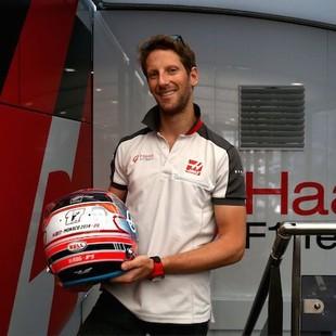 Capacete Grosjean Bianchi (Foto: Divulgação)