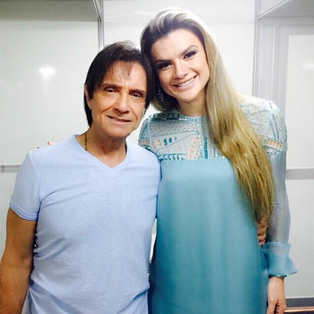 Mirella Santos e Roberto Carlos (Foto: Reprodução/Instagram)
