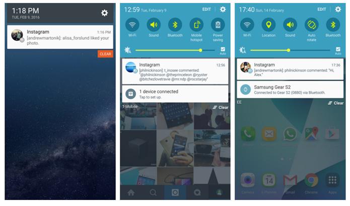 Bug no Instagram mostrada notificações de diversas contas (Foto: (Foto: Reprodução/Android Central)