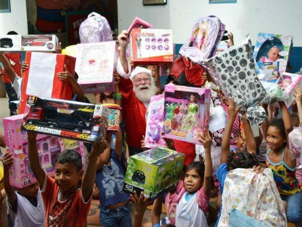 Natal empresa (Foto: Divulgação: Anelize Moreno / Correios)