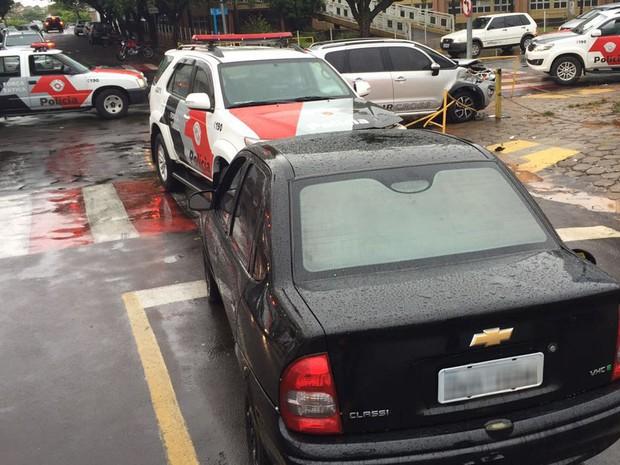 Acidente ocorreu na tarde desta terça-feira (30) (Foto: Murilo Zara/TV Fronteira)