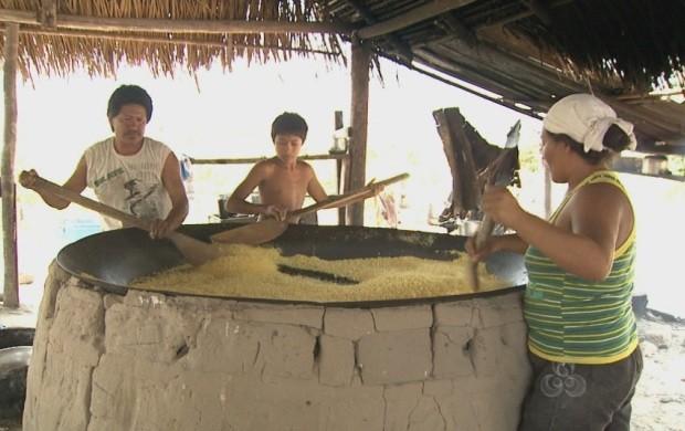 Apesar da influência, a cultura original ainda permanece (Foto: Bom Dia Amazônia)