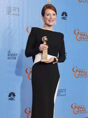 Julianne Moore, premiada como melhor atriz por 'Virada no jogo' (Foto: Lucy Nicholson/Reuters)
