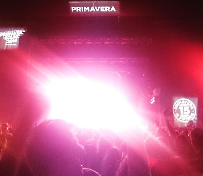 Show do Strokes em Barcelona