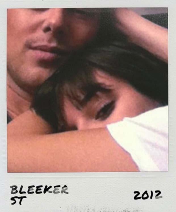 Lea Michele e Cory Monteith em foto de 2012 (Foto: Reprodução/Instagram)