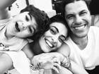 Juliana Paes posta foto fofíssima com marido e filho durante férias na Disney