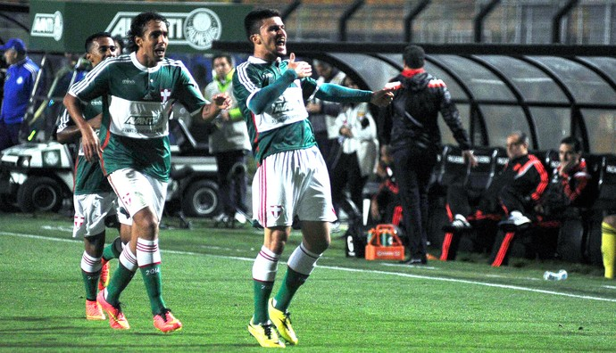 Victor Luis Palmeiras X Flamengo (Foto: Marcos Ribolli)