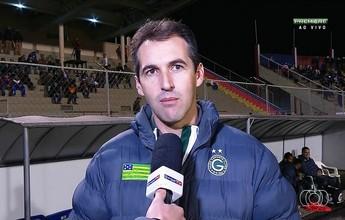 Técnico comemora consistência e diz que Goiás mereceu mais uma vitória