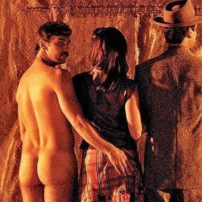 Marcelo Faria: assim como na peça, o ator volta a ficar nu para interpretar o personagem Vadinho, desta vez nos cinemas (Foto: Divulgação)