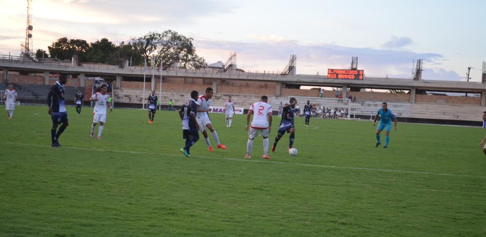 São Francisco x Rio Branco (Foto: Dominique Cavaleiro/GloboEsporte.com)