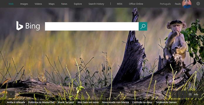 Bing ganha programa de testes Bing Insider (Foto: Reprodução/Bing)