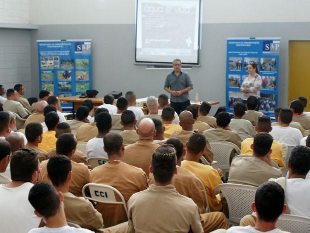 Centro de Progressão Penitenciária de Pacaembu (CPP) recebe a 2º edição da Jornada da Cidadania e Empregabilidade (Foto: SAP/Divulgação)