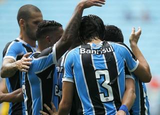 Grêmio x Glória (Foto: Lucas Uebel/Divulgação Grêmio)