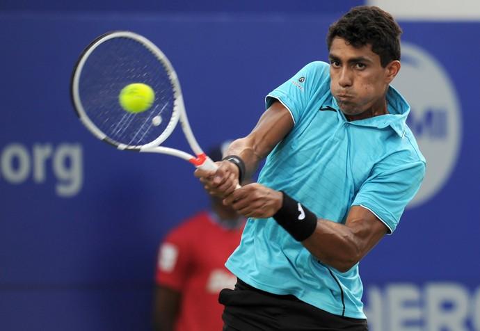 Thiago Monteiro perde para Medvedev no ATP de Chennai (Foto: AFP/Arun Sankar)