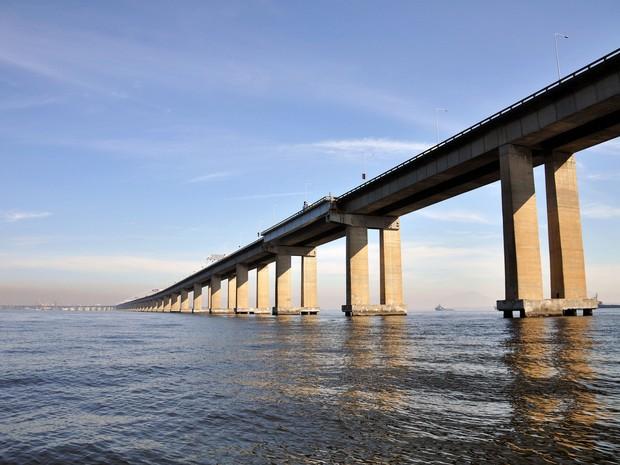 Ponte Rio-Niterói faz parte da BR-101 (Foto: Alexandre Macieira / Riotur)