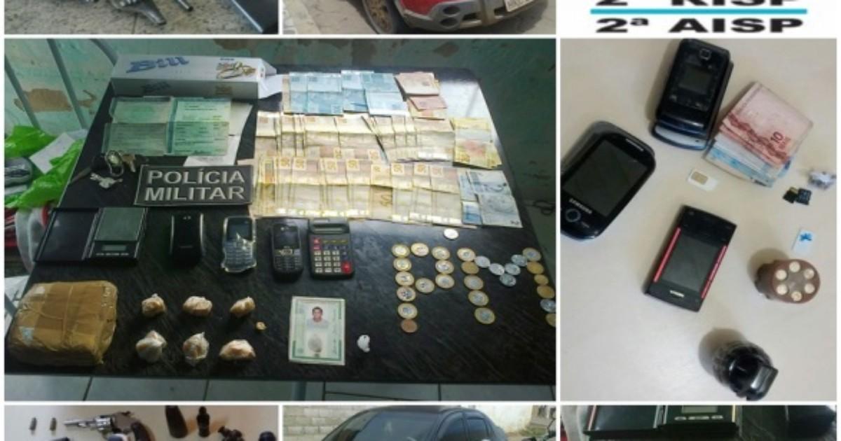 Operação termina com 86 detidos nas regiões Norte e Noroeste do ES - Globo.com