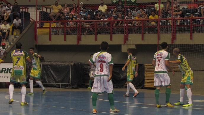 Crateús x Mombaça final Cearense de Futsal (Foto: Juscelino Filho)