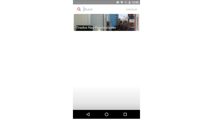 Pesquisa é útil para filtrar snaps e encontrar conteúdos específicos (Foto: Reprodução/Snapchat)