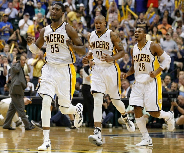 NBA basquete Indiana Pacers Leandrinho (Foto: Getty Images)
