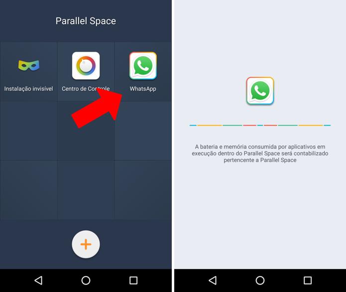 Instale o WhatsApp (Foto: Reprodução/Paulo Alves)