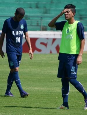 Everton, atacante do Guarani na Copa São Paulo de Juniores (Foto: Murilo Borges / Globoesporte.com)