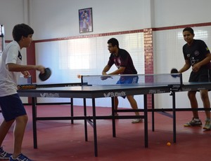 Atletas vão disputar Copa Brasil de Tênis de mesa (Foto: Felipe Martins/GLOBOESPORTE.COM)