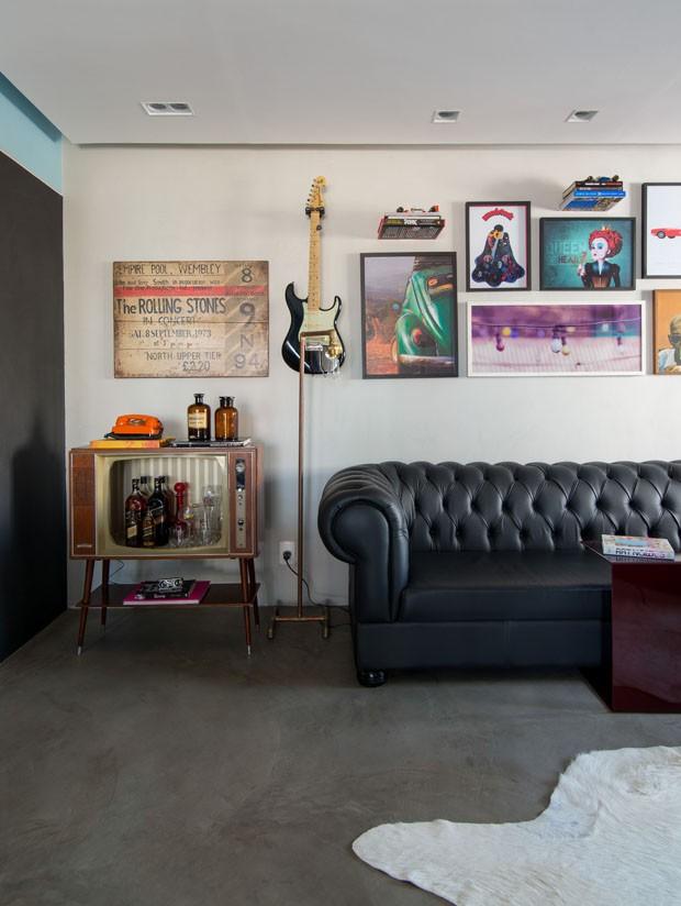 Apartamento de 68 m² tem sala ampla perfeita para receber (Foto: Divulgação)