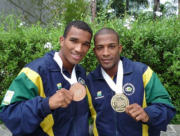 Esquiva Florentino Everton Lopes Boxe (Foto: Alexandre Massi / Globoesporte.com)