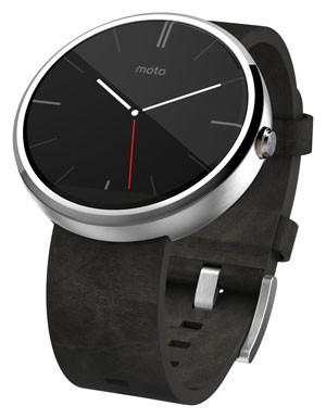 Moto360, relógio inteligente com tela redonda, chega ao Brasil em outubro (Foto: Divulgação/Motorola)