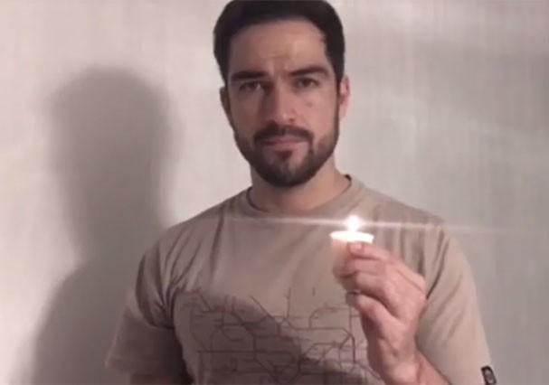 Alfonso Herrera (Foto: Reprodução/Youtube)