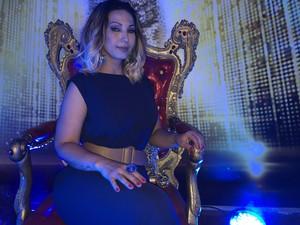 Valesca Popozuda faz show na casa do Dança (Foto: Guilherme Toscano/Gshow)